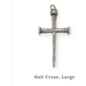 Nail cross large James Avery sterling silver